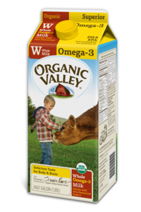 organic valley DHA